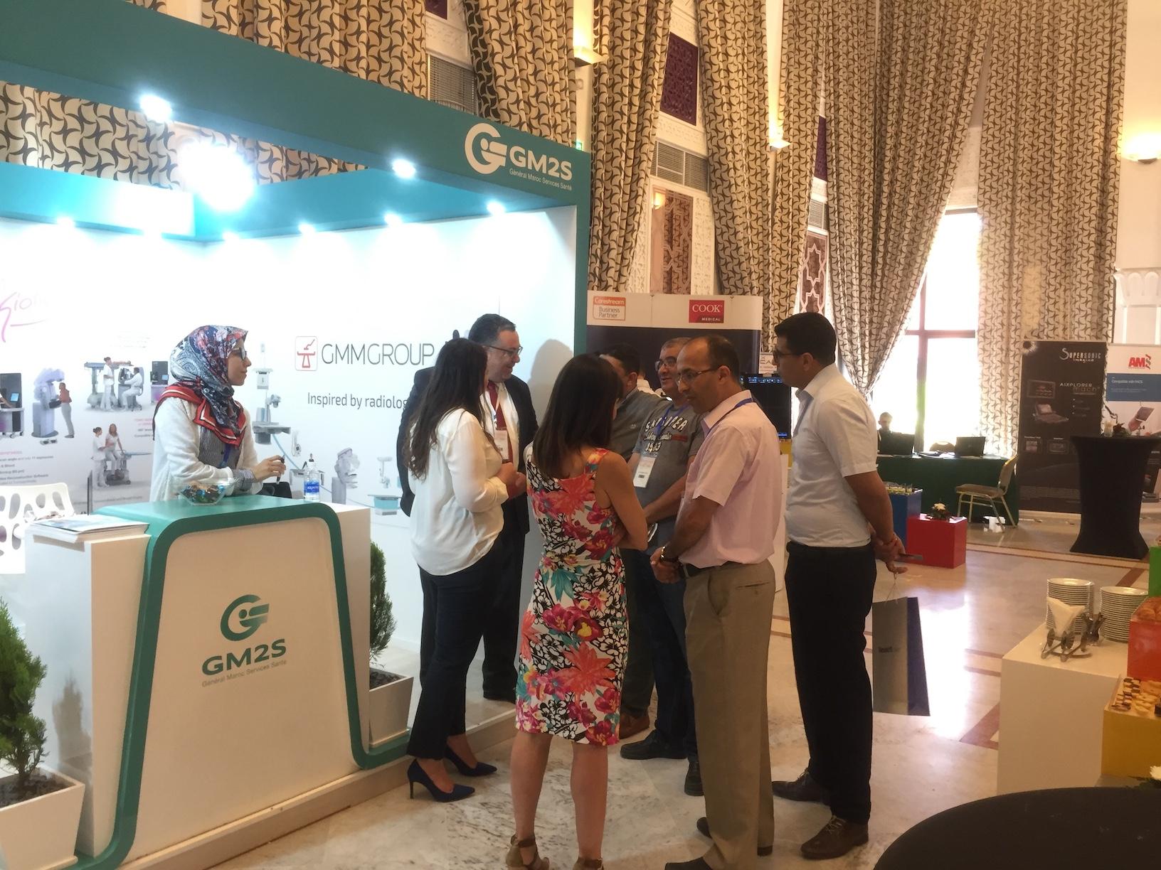 Participation at Congrès de la Radiologie à Marrakech 2019